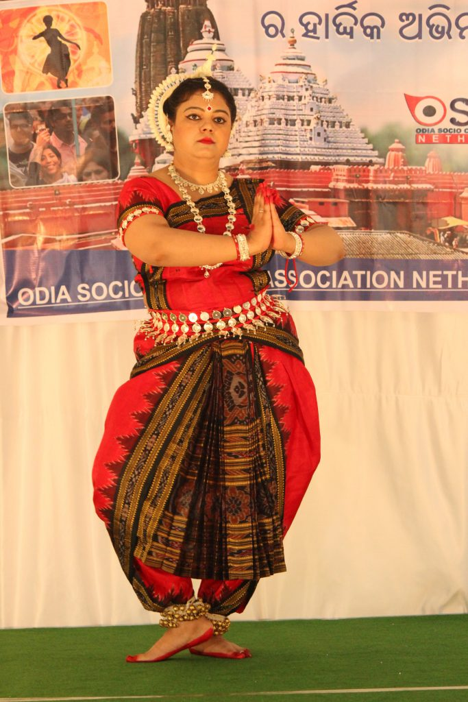 Odishi dancers graced the stage
